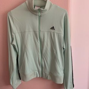 MINT ADIDAS ZIP UP